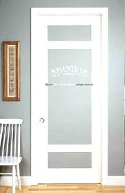 frosted glass pantry door etched interior doors inch canada etched glass pantry door white frosted farmhouse vintage p 24x80