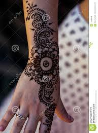 Henna Arm Art Stock Image Image Of Tribal Vintage 113789345