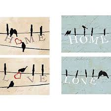 home love birds on wire inspirational canvas wall art 6 5 x 8 5  on birds on wire canvas wall art with home love birds on wire inspirational canvas wall art 6 5 x 8 5