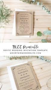 Wedding Invitation Downloads Free Printable Wedding Invitation Template