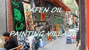 dafen oil painting village shenzhen china