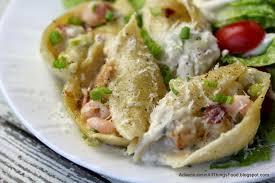 Creamy Seafood Stuffed Shells #SeafoodHop