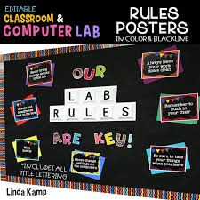 Spruce Up Your Computer Lab With Chalkboard Decor Around