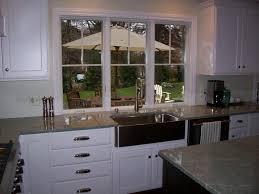 Kitchen Windows Kitchen Sink Window Lower Than Countertop Finish Carpentry