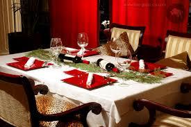 Christmas Table Setting Christmas Table Settings