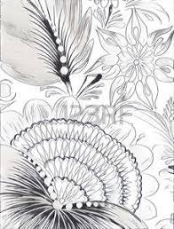 Immagini Stock Pittura Di Petrikovskaya Bellissimo Fiore Colorato