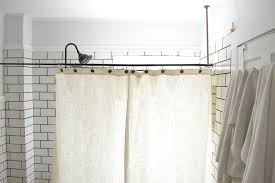 diy clawfoot tub shower. a diy clawfoot tub shower curtain for your combo diy