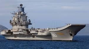 carrier ramp. admiral kuznetsov carrier ramp e