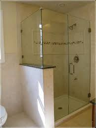how to clean frameless glass shower doors