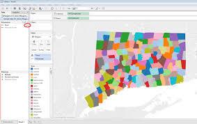 Tableau Venn Diagram Creating A Custom Polygon Map For Connecticut Towns In Tableau