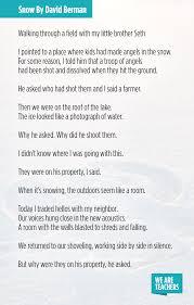 poems for middle david berman