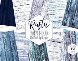 blue barn wood. RUSTIC BLUE WOOD Digital Paper Pack White Wash Wood Grain Backgrounds Beach Scrapbook Papers Barn Blue O