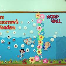 Classroom Design Ideas wall decor kindergarten decoration ideas fish bulletin boards and classroom cute