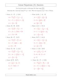 262 best math linear equations images on teaching 220288