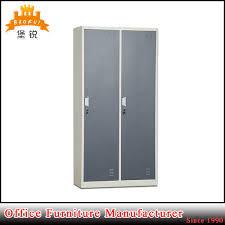 modern 2 door bedroom school gym locker metal clothes cabinet
