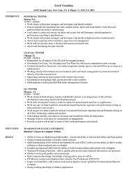 For Qa Tester 3 Resume Templates Pinterest Resume Templates