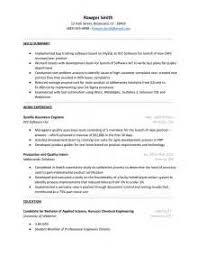 good qa resume sample 2 qa resume template