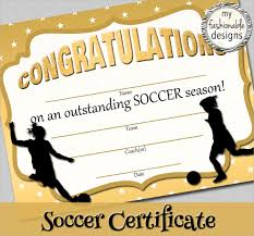 soccer awards templates free printable soccer certificate templates visualbrains info