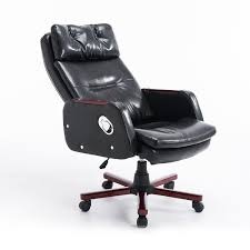 adjustable office chairs. PU Leather Computer Office Chair Adjustable Armrest Remote Control 360 Degree Chairs D