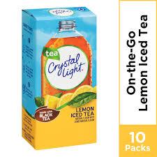 Crystal Light Lemon Iced Tea Powdered Drink Mix 10 Ct 0 7