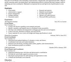 Event Manager Resume Events Manager Resume Sample For Study Event Management Image 62
