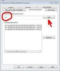 sql server master database