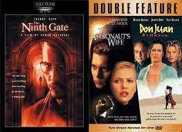 Amazon.com: Johnny Depp Triple Feature - The Ninth Gate, The Astronauts  Wife & Don Juan DeMarco 3-DVD Bundle: Movies & TV