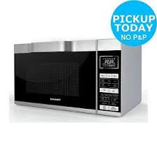 sharp 900w combination flatbed microwave r861 silver. sharp-r861-flat-tray-combination-microwave-silver-from- sharp 900w combination flatbed microwave r861 silver r