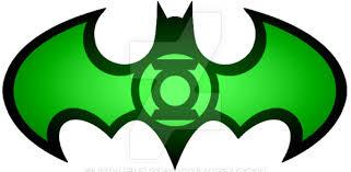 Glowing Green Lantern Batman Logo by KalEl7 on DeviantArt
