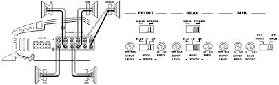 infinity 5760a wiring diagram circuit diagram 6 channel power wiring diagram