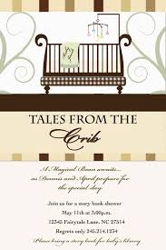 Story Book Baby Shower Invitation Book Themed Baby ShowerLibrary Themed Baby Shower Invitations