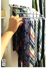 necktie rack organizer best way to ties closet tie rack organizers ideas on hanger 7 dye tiesto amsterdam wall mount tie rack for closet