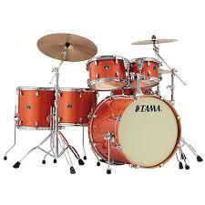 tama silverstar 22 bright orange sparkle