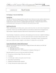 Sample Entry Level Resume Entry Level Real Estate Agent Resume kerrobymodels 11
