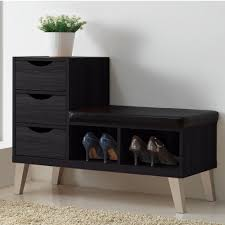 furnitureentryway bench shoe storage ideas. Wealth Entryway Furniture Bench Shoe Storage Wood Drawer Padded Seating Chair Indoor Furnitureentryway Ideas T