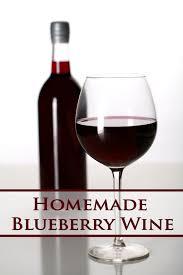 blueberry wine recipe fresh or frozen