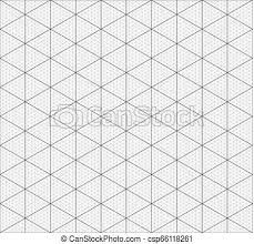 Isometric Graph Paper Background Measured Grid Graph Plotting Grid Corner Ruler With Measurement Isolated On The White Background Vector Graph