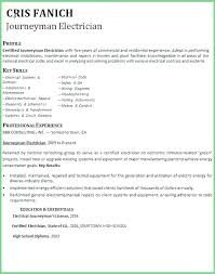 Example Electrician Resume Mesmerizing Residential Electrician Resume Skills Example Download Sample Best