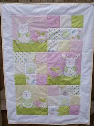 Rosie' Rabbit Pram/Crib Quilt Pattern 38