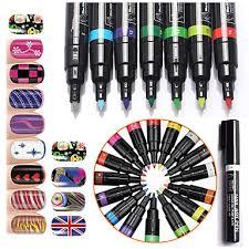 399 Módní Nail Art Pen Nehty Malování Dot Výkresu Uv Gel Design Manikúra Nehty Kosmetické Nářadí 16 Barvy Pro Vašeho Výběru