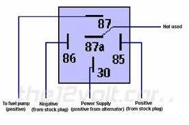 wiring diagram 4 pin relay wiring diagram driving lights 12v relay wiring diagram 5 pin at Wiring Diagram For Relay