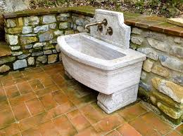 outdoor sink station