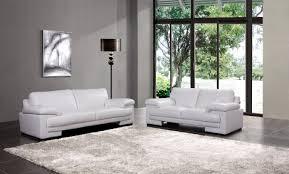 Marlene Leather Sofa Sets White Colors Leather Seating Sofa Set - All leather sofa sets