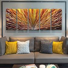 china 3d abstract multi panels handmade
