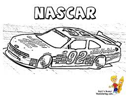 Race Car Driver Coloring Pages Printable Coloring Page For Kids