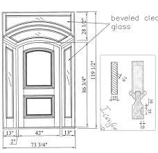 Custom Doors Wood Doors Made To Order - Exterior door thickness