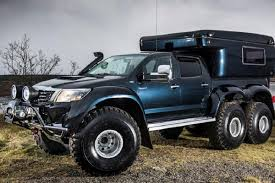 Go Off the Map with the Hilux AT44 6x6 Arctic Truck | Video ...