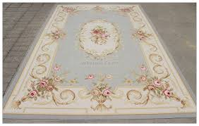 aubusson rug grey blue