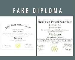 Fake Diploma Template Free Publisher Diploma Template