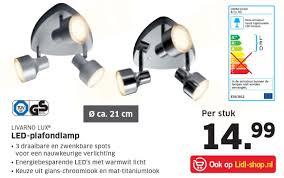 Livarno Lux Led Plafondlamp Aanbieding Bij Lidl